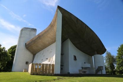 Ronchamp Chapel.